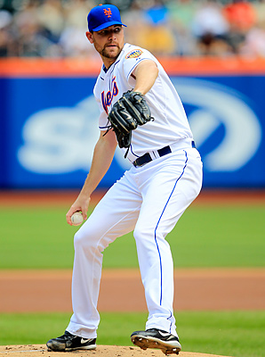 Mike Pelfrey won 50 games in seven seasons with the Mets.