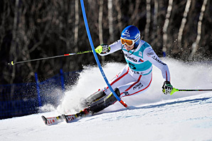 Marlies Schild's pursuit of the World Cup slalom wins record will have to wait.