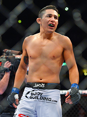Erik Perez is the UFC's only Mexican-born fighter and the link to the country's fans.