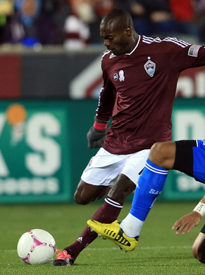 Omar Cummings had 39 regular-season goals with the Rapids, including 14 when Colorado won the league title in 2010.