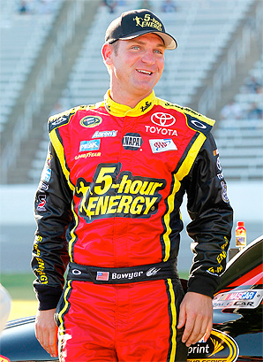 Clint Bowyer's season will be remembered by his anger-fueled sprint to Jeff Gordon's trailer after they wrecked in Phoenix.