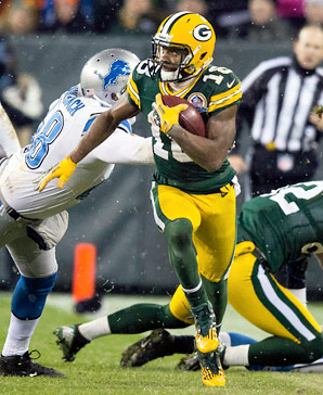 Randall Cobb has unexpectedly emerged as the Packers' No. 1 receiving threat this season while also returning kicks and punts.