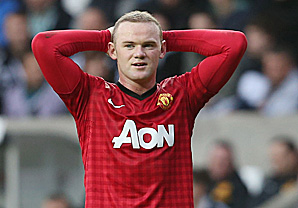 Wayne Rooney had been having an uneven season when he injured his knee.