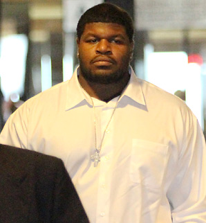 Josh Brent joined the Cowboys as a seventh-round draft pick in 2010.