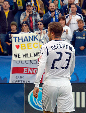 David Beckham is still much in demand.