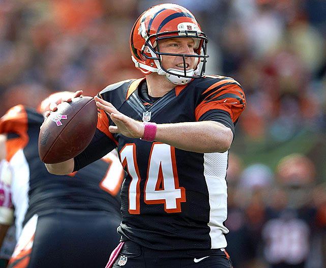 Quarterback Andy Dalton must avoid making the costly mistake.