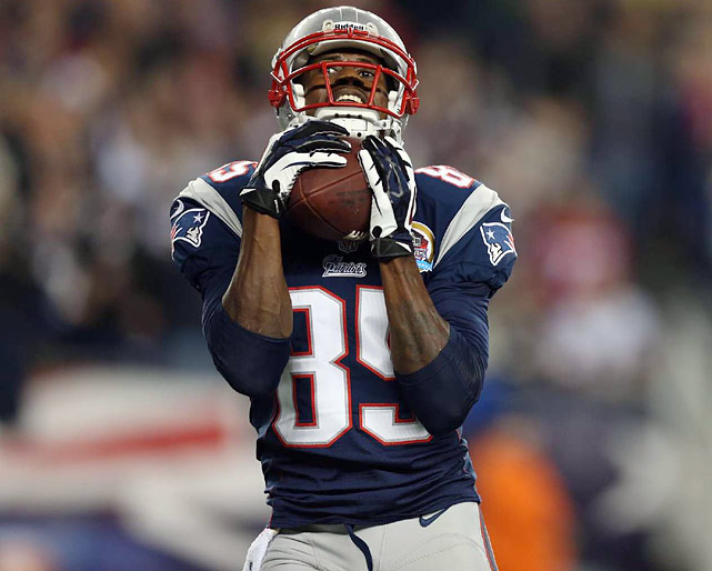 Another wide receiver -- Deion Branch? Brandon Lloyd? -- needs to step up. Wes Welker can't be a one-man band.