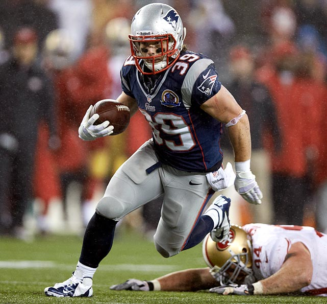 Give Danny Woodhead plenty of touches. Whether he's a runner or a receiver, he moves the chains.