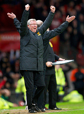 Alex Ferguson has a history with referees in his Manchester United career.