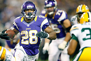 Coming off an ACL tear, Adrian Peterson rushed for 2,097 yards during an MVP-caliber season.