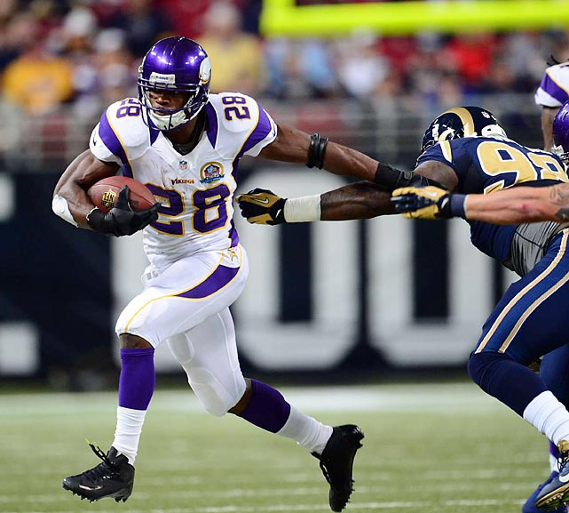 Keep feeding the beast. Give the ball to Adrian Peterson. All Day. Any questions?