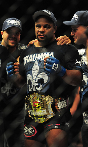 Daniel Cormier, who is Cain Velasquez's sparring partner, is expected to go after a UFC belt once Strikeforce folds in January.
