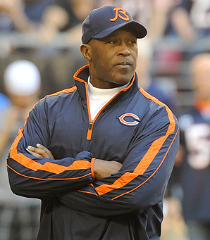 Under Lovie Smith, the Chicago Bears made the playoffs in three of nine seasons.