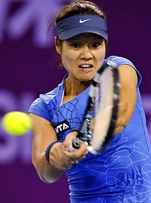 Li Na will play eighth seed Bojana Jovanovski in the quarterfinals.