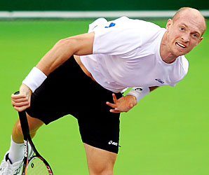 Nikolay Davydenko, once a top-five player, is now ranked No. 44.