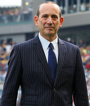 Don Garber has been MLS commissioner since 1999 and seen the league grow to 19 teams.