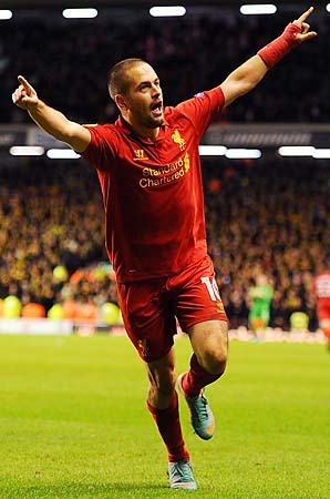 Joe Cole had been with Liverpool since 2010.