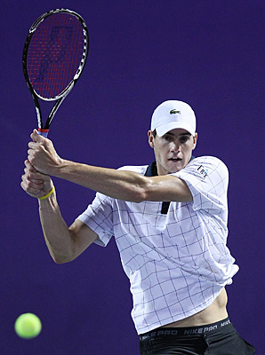 John Isner will miss the rest of the Hopman Cup with a knee injury.