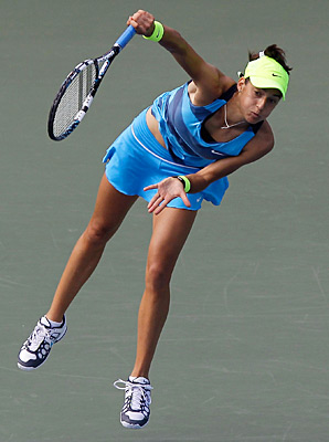 Caroline Garcia reached the second round of the Australian Open in 2011.
