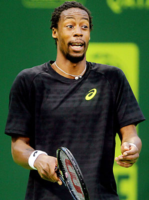 Gael Monfils is hoping to bounce back from a lackluster 2012.