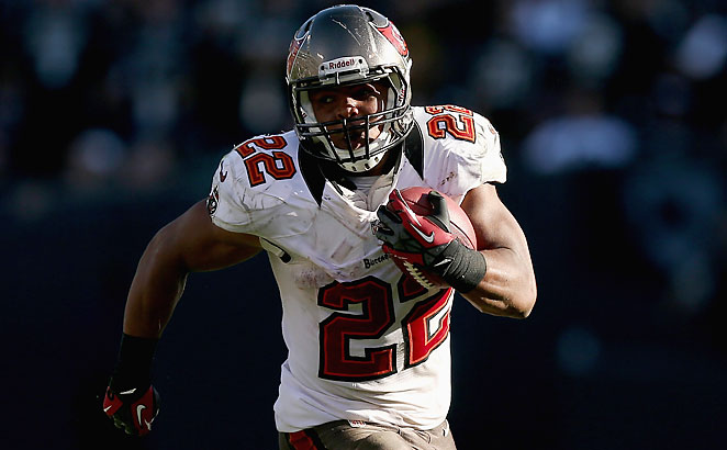 After a slow start to 2012, Doug Martin finished fifth in rushing yards with 1,454 and scored 11 TDs.