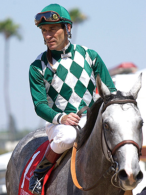 Jockey Gary Stevens retired in 2005 after suffering knee pain, but is coming back for select races.