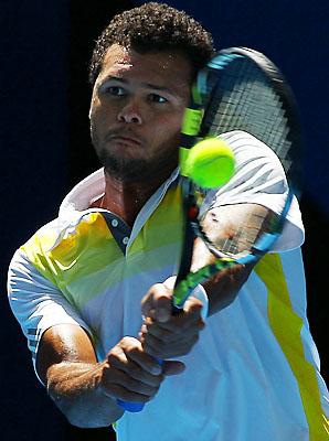 Jo-Wilfried Tsonga is a former Australian Open finalist.