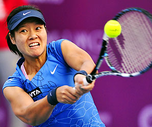 Li Na is tuning up for the Australian Open, where she reached the final in 2011.