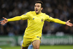 Giuseppe Rossi was born in New Jersey but plays internationally for Italy.
