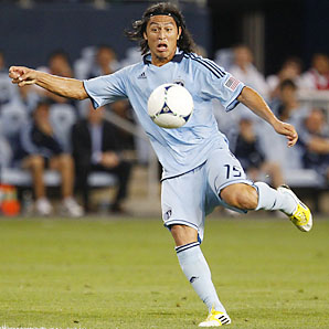 Roger Espinoza and Sporting Kansas City fell in the Eastern Conference playoffs.