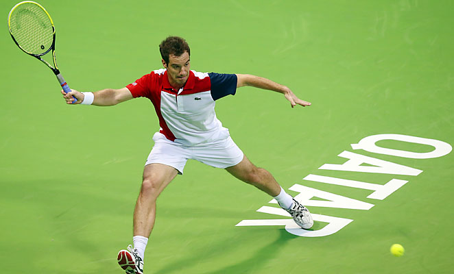 Richard Gasquet will face Nikolay Davydenko in the Qatar Open final.