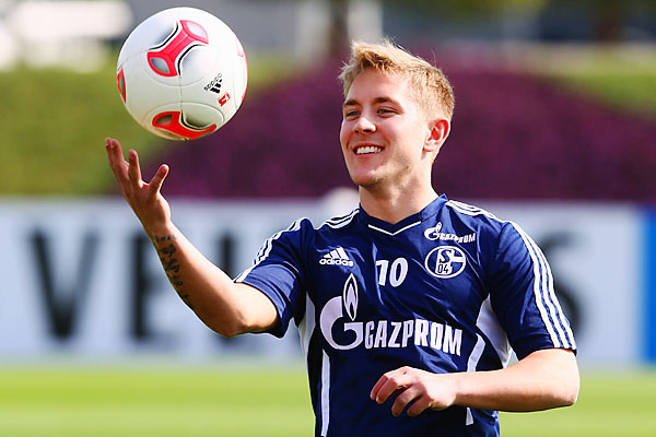German midfielder Lewis Holtby had been with Schalke since 2009.