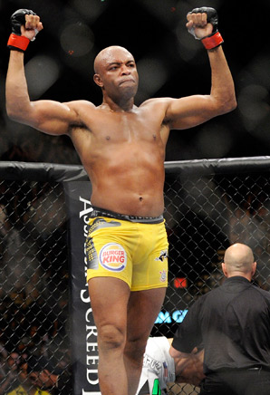 Middleweight Anderson Silva stays atop SI.com's pound-for-pound rankings.