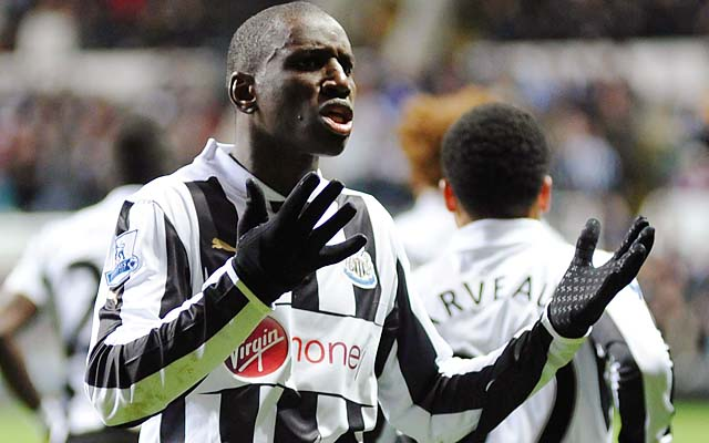 Demba Ba ranks third in the Premier League in goals with 13 for Newcastle United.