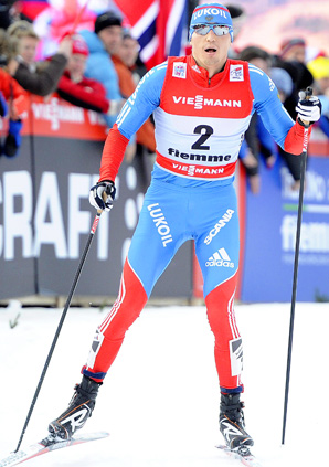 Alexander Legkov rallied to win his first Tour de Ski title.