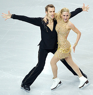 Isabella Tobias and partner Deividas Stagniunas perform in 2012, but they will not perform at the 2014 Olympics.