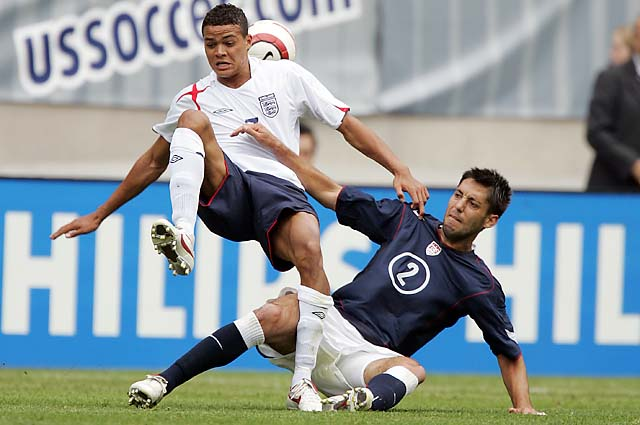 Clint Dempsey (bottom) made an impression in 2005 that led to his inclusion for the 2006 World Cup.