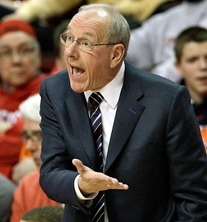 Even Jim Boeheim has trouble keeping track of who's coming and going through the Big East.