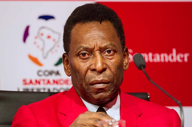 Pele was part of the World Cup winning teams in 1958, 1962 and 1970.