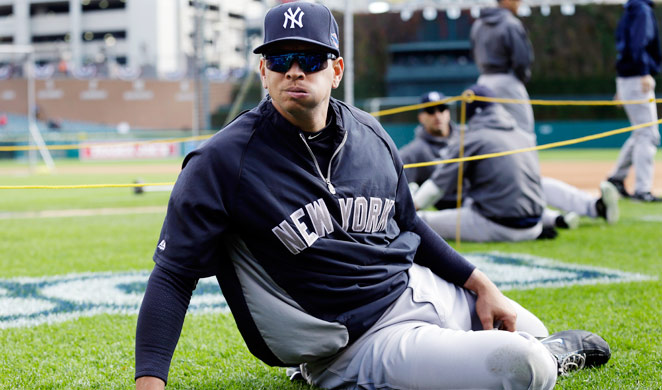 ..Alex Rodriguez previously had hip surgery before the 2009 season.
