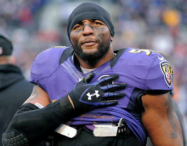 Two days before the playoffs began, future first-ballot Hall of Fame linebacker Ray Lewis announced that he would retire whenever his Baltimore Ravens were knocked out of the Super Bowl tournament. The Ravens won their playoff opener over Indianapolis, in what was Lewis' last game in front of the hometown fans, and went on to win the Super Bowl. <bold>(112 Memorable Moments of 2012)</bold>