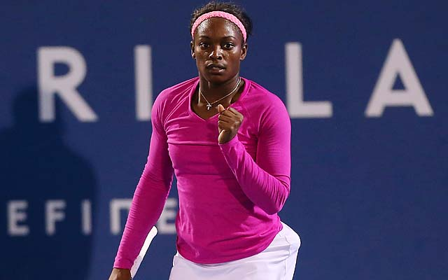 Sloane Stephens challenged Serena Williams well in a 6-4, 6-3 loss in Brisbane.