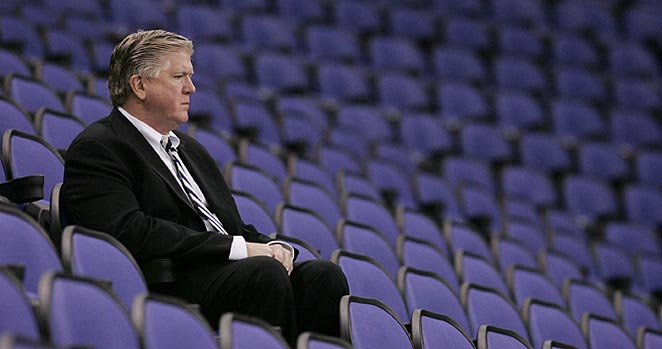 "Brian Burke will see if the Maple Leafs stick with his ""truculence and testosterone"" formula."
