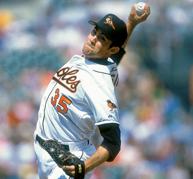 Mike Mussina's 18-year career included five All-Star Games, 270 wins and 2,813 strikeouts. He led the American League in wins and shutouts in 1995 with 19 and four, respectively, and left the game on a high note with his first 20-win season.