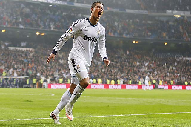 Cristiano Ronaldo scored in the second, 24th and 87th minutes.