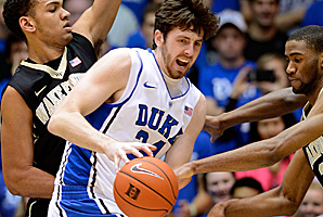 Senior forward Ryan Kelly is averaging 13.4 points and 5.4 rebounds this season.