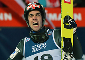 Anders Bardal moved into second place in the overall standings.