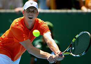 Sam Querrey will face No. 2 seed Philipp Kohlschreiber in the semis.