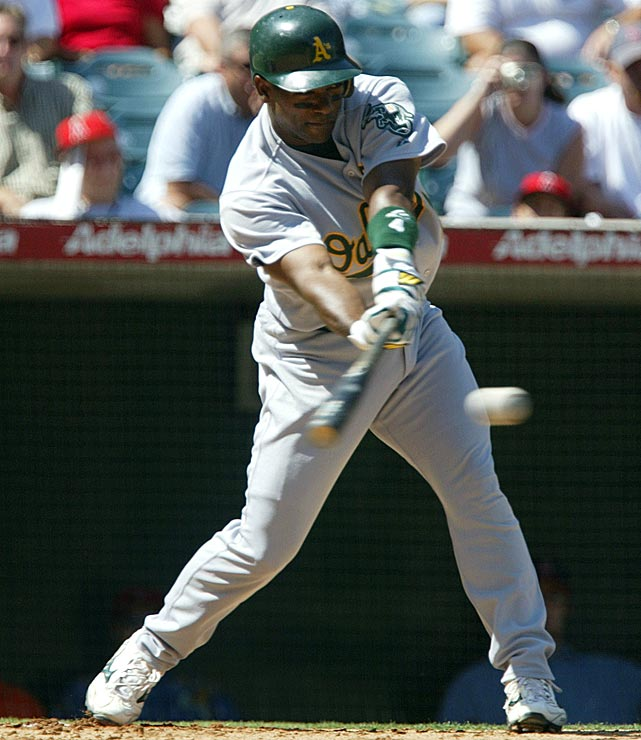 One of the top power-hitting shortstops of his time, Miguel Tejada hit more home runs than all but two shortstops in the Hall of Fame and drove in 150 runs in 2004 en route to an MVP Award. Steroids will cloud his vote because Tejada was named in the Mitchell Report and pled guilty to charges of lying to Congress about performance-enhancing drug use in MLB.