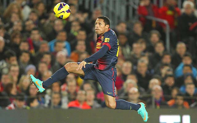 It is unclear when Adriano will return to action for Barcelona.